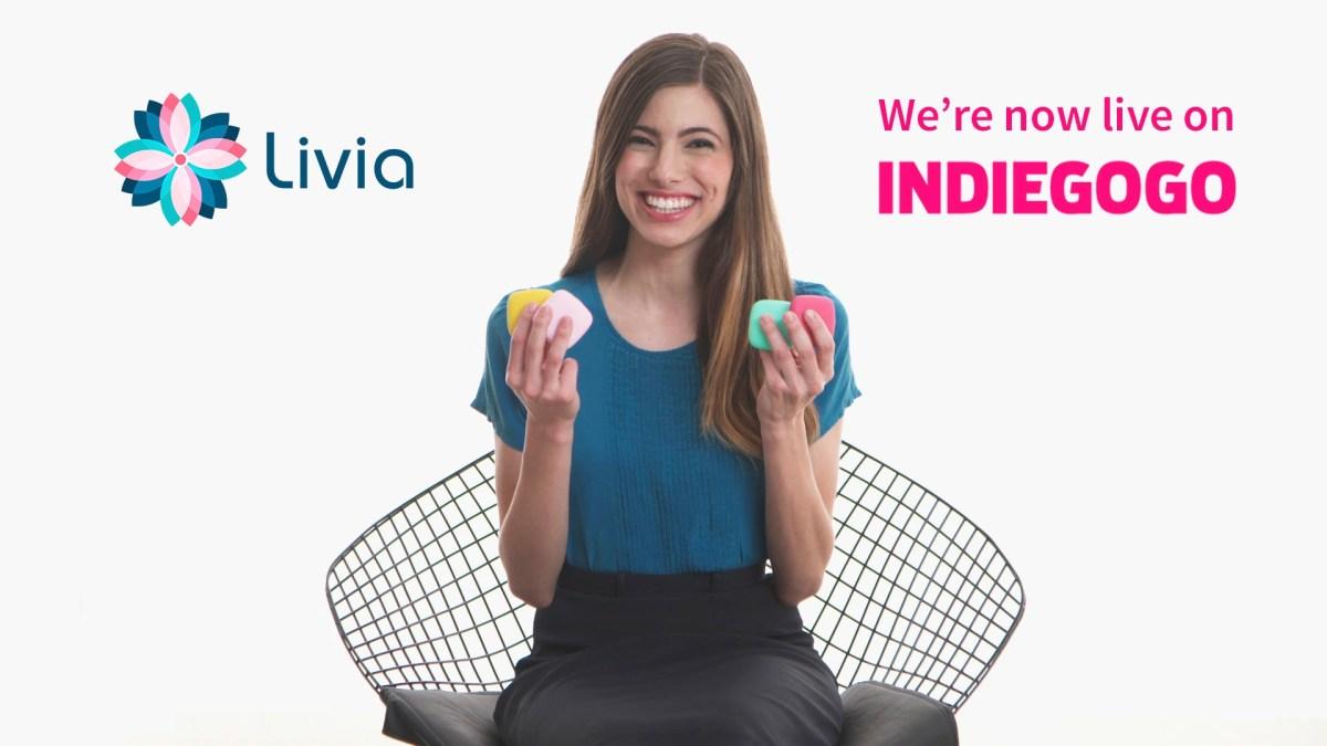 """Hallo Ladies: """"Livia"""" ist offenbar ein Gerät, das effektiv Menstruationsschmerzen bekämpfen können soll"""