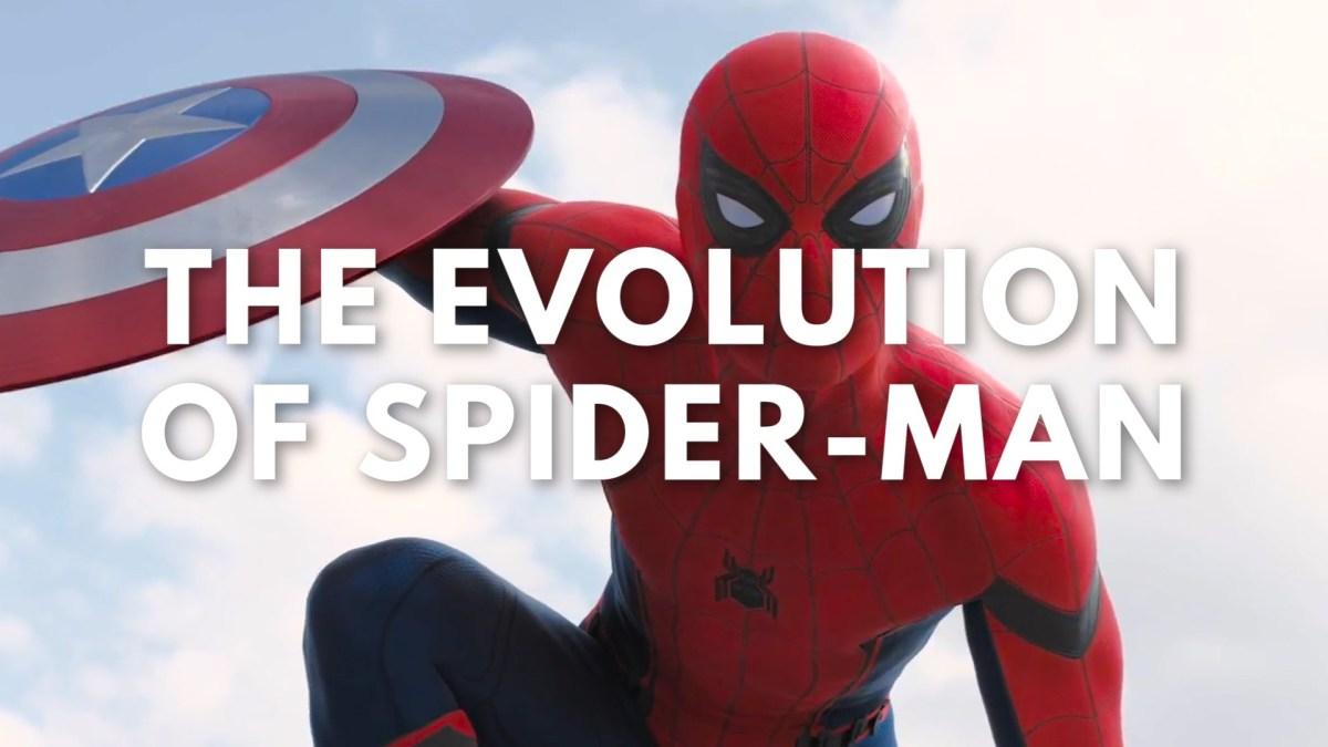 """""""The Evolution of Spider-Man in Television & Film"""" von 1967 bis heute"""