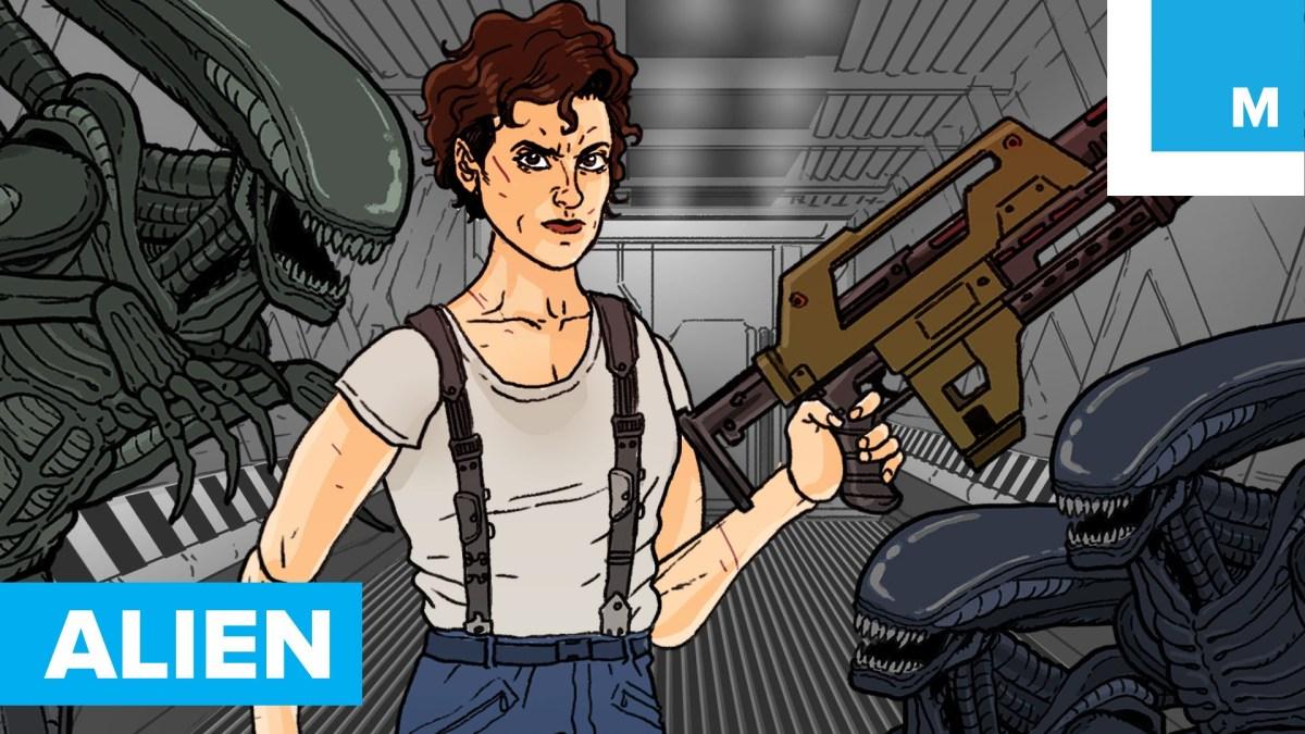 """Alle """"Alien""""-Filme in 3 Minuten"""