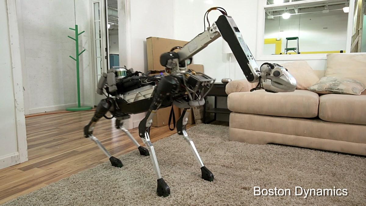 SpotMini, der etwas gruselige Haushaltshelfer-Roboter von Boston Dynamics