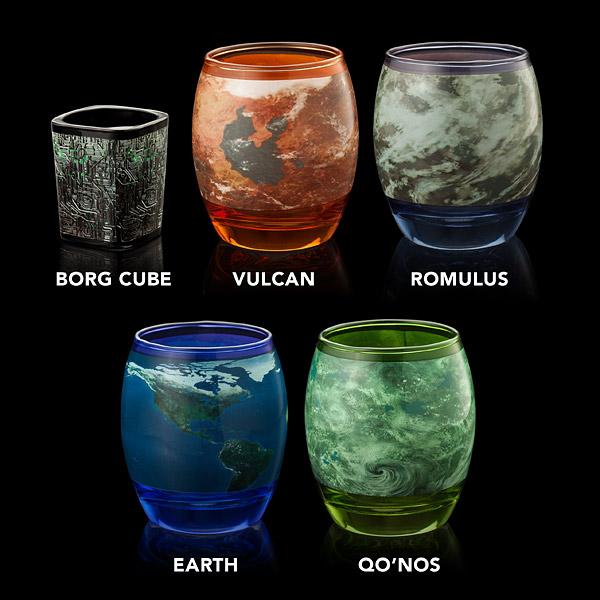 """""""Star Trek"""": Es gibt offiziell lizensierte Trink-Gläser… ja, wirklich!"""