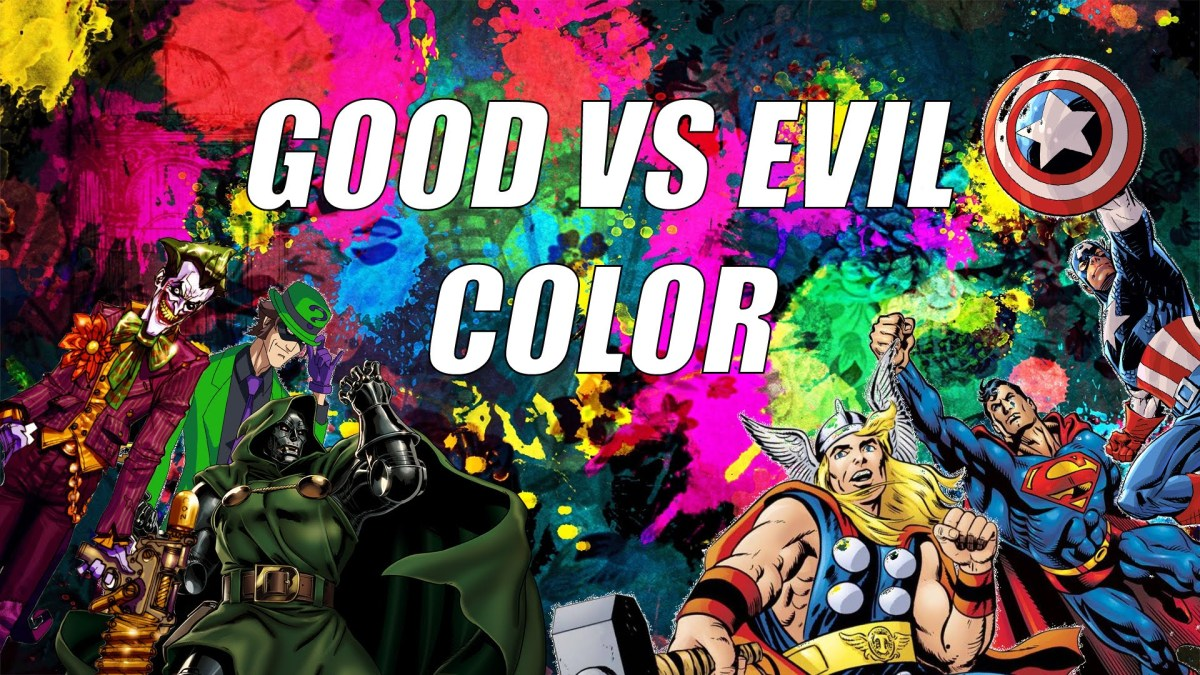 Wie Farben in Filmen den unterscheid zwischen gut und böse definieren