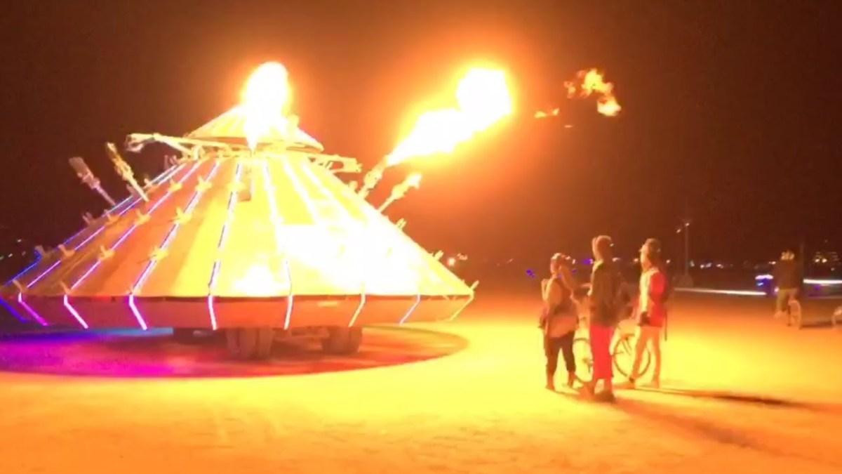 Burning Man 2016 im Zeitraffer