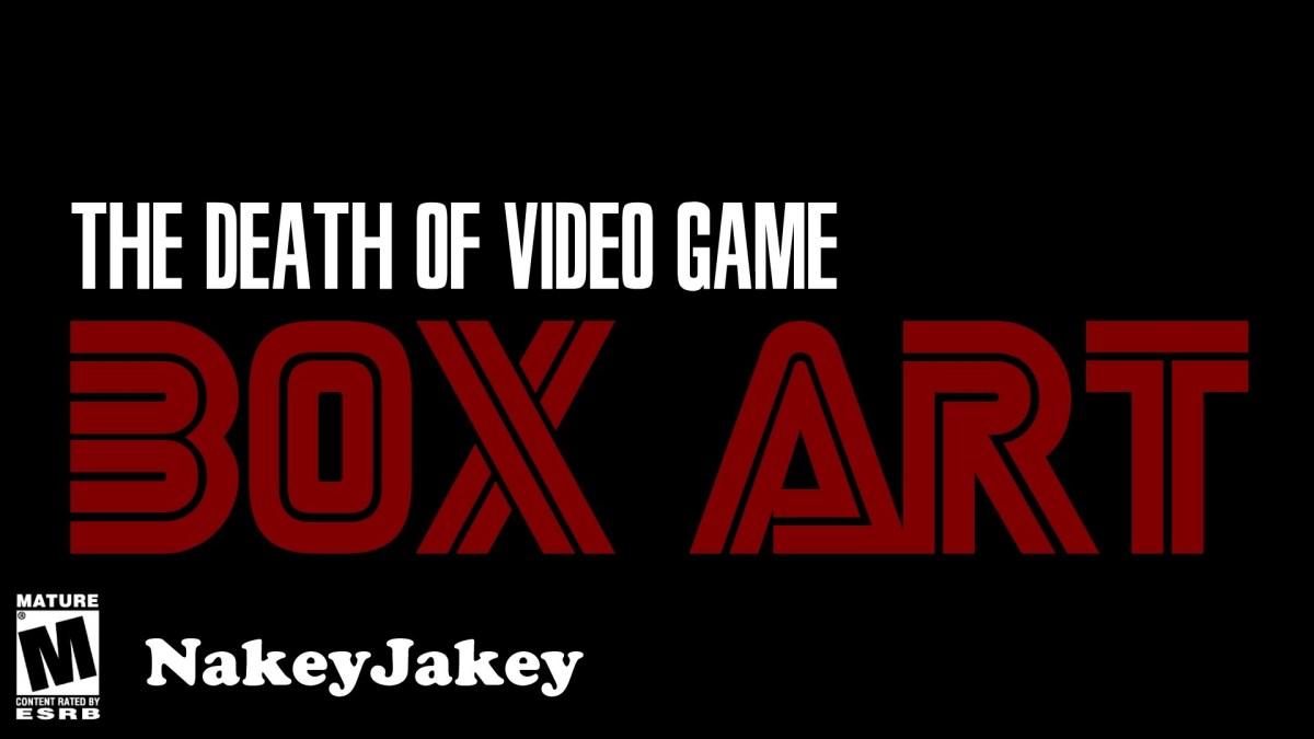 Der langsame und grausame Tod der Video Game Box Art