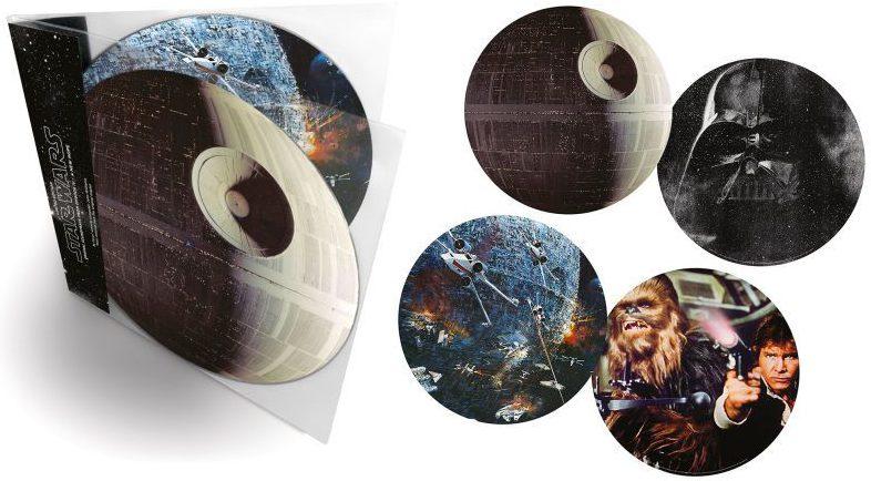 """Schaut doch nur, wie hübsch der """"Star Wars""""-Soundtrack (Episode IV) auf Vinyl aussehen kann!"""