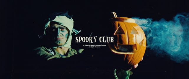"""Im Halloween-Kurzfilm """"SPOOKY CLUB"""" planen lustige Gestalten den Raub des Schädels von Vincent Price"""