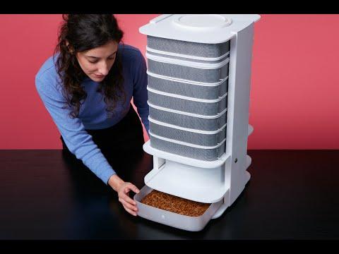 """""""The Hive"""" ist ein Gerät, mit dem du dir zuhause Mehlwürmer für den Verzehr züchten kannst"""