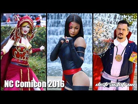 Ein Cosplay-Musik-Video von der New York Comic Con 2016