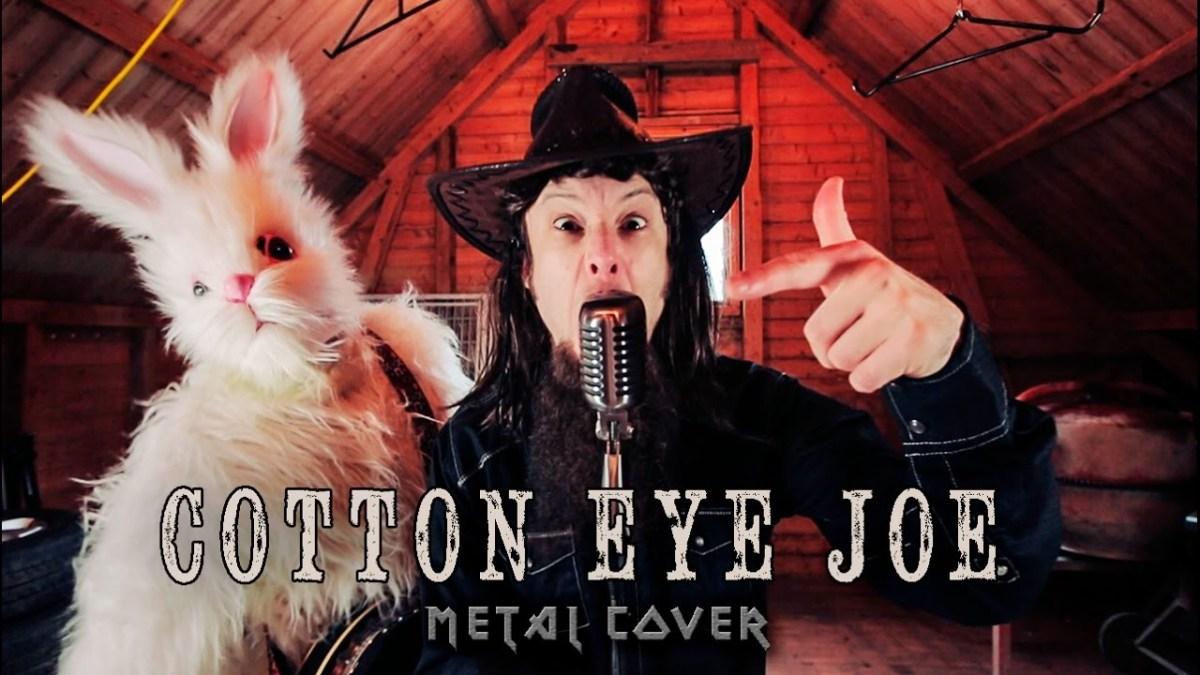 """Leo Moracchioli covert """"Cotton Eye Joe"""" von Rednex in Metal"""