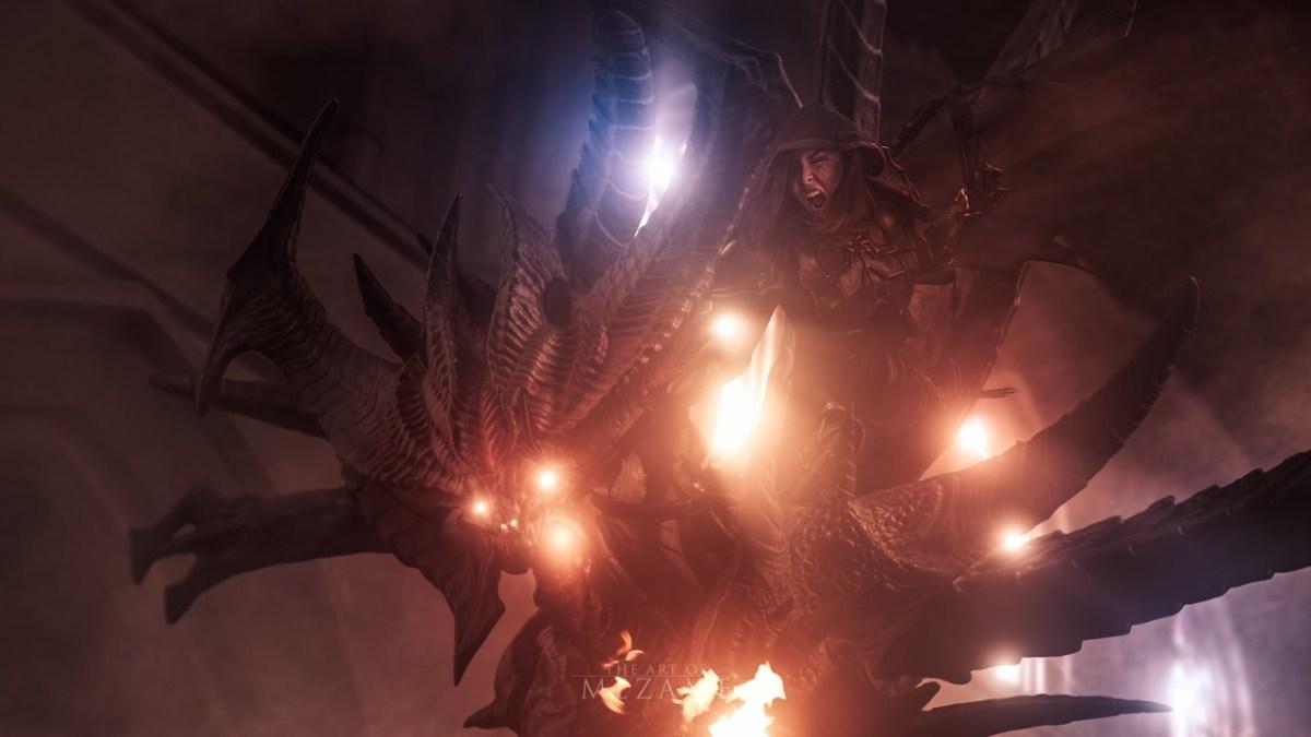 "REVENGE OF THE NEPHALEM: Ein ""Diablo III""-Hochzeitsfotoshooting"