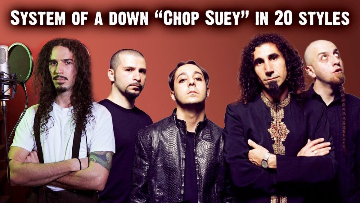 """""""Chop Suey"""" von System of a Down in 20 verschiedenen Stilen"""