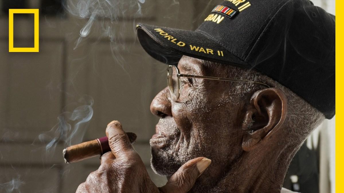 Richard Arvin Overton, der mit 110 Jahren älteste Veteran der USA, teilt uns in einem Video seine Lebensweisheiten mit