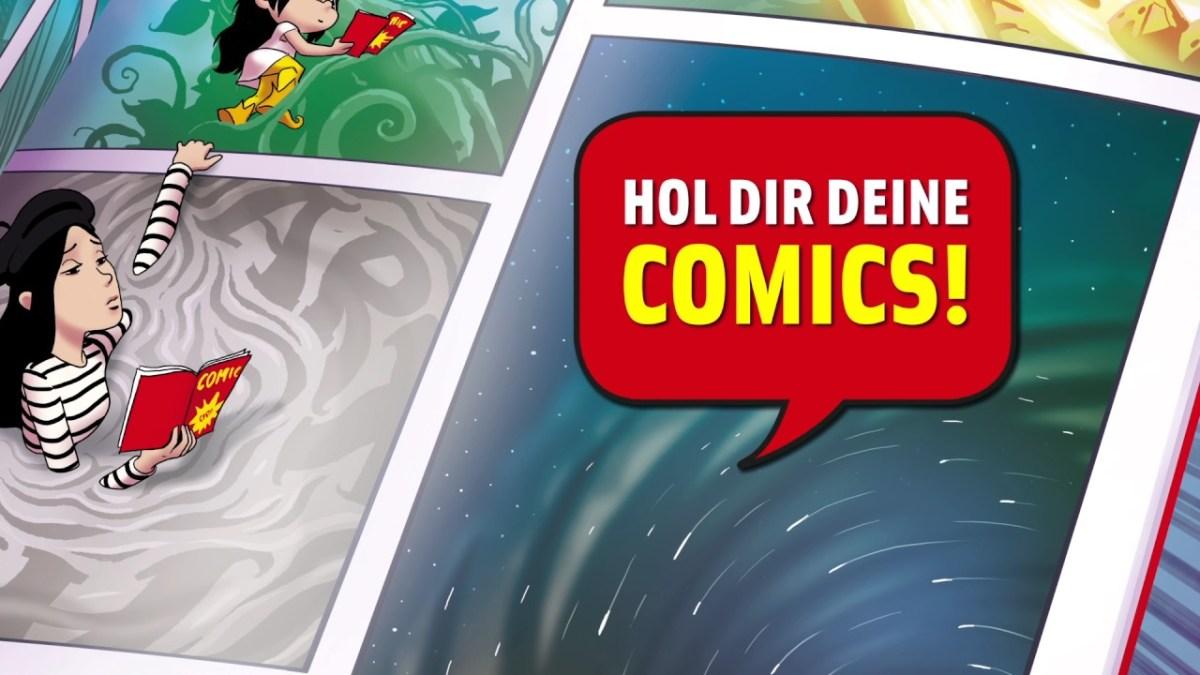 Save the Date: Am 13. Mai ist wieder Gratis Comic Tag und hier ist der Trailer