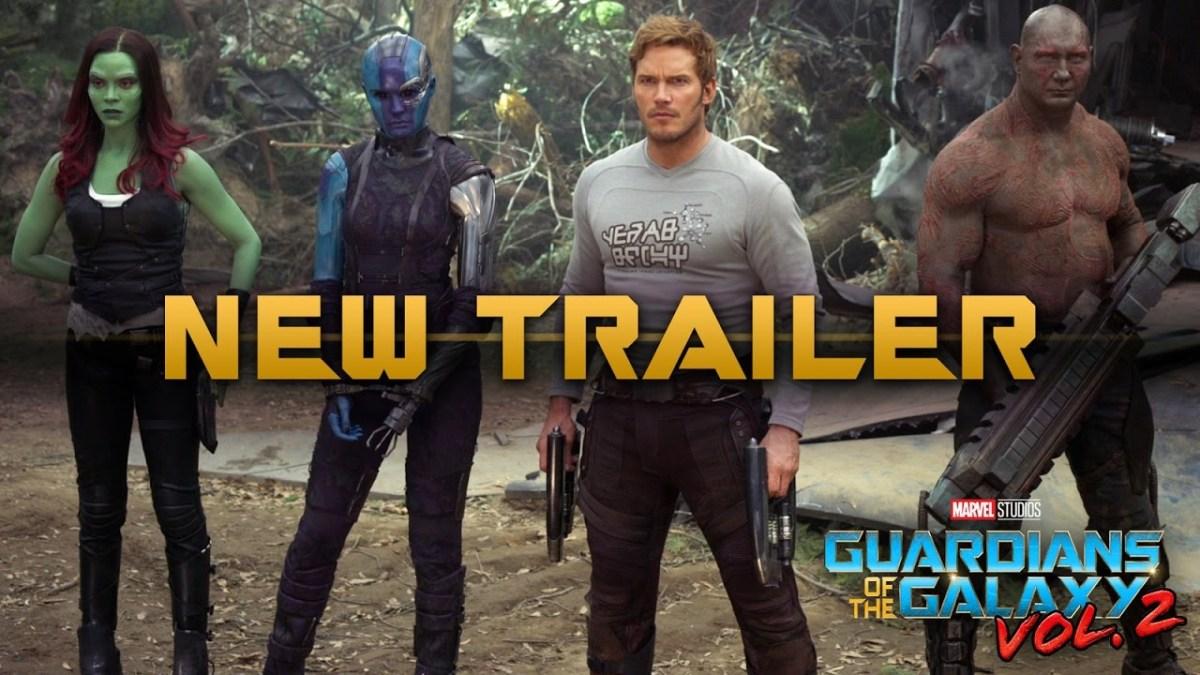 """Und """"Guardians of the Galaxy Vol. 2"""" hat ja auch so einen okayen neuen Trailer"""