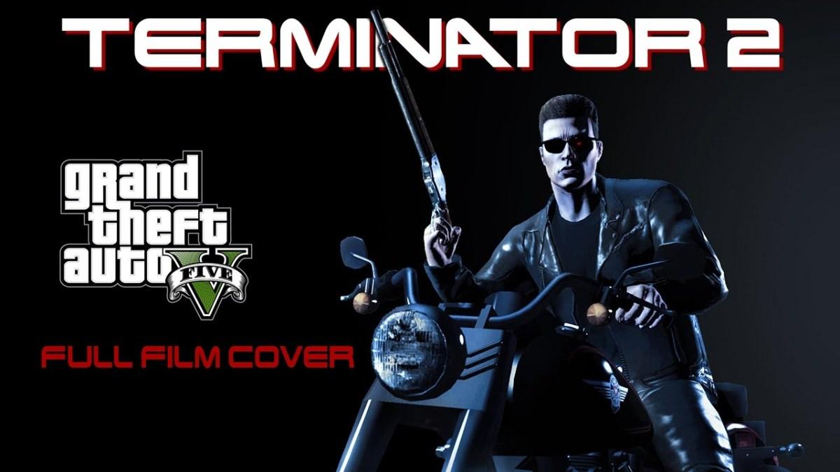 """Terminator 2"", aber nachgestellt in ""GTA V"""
