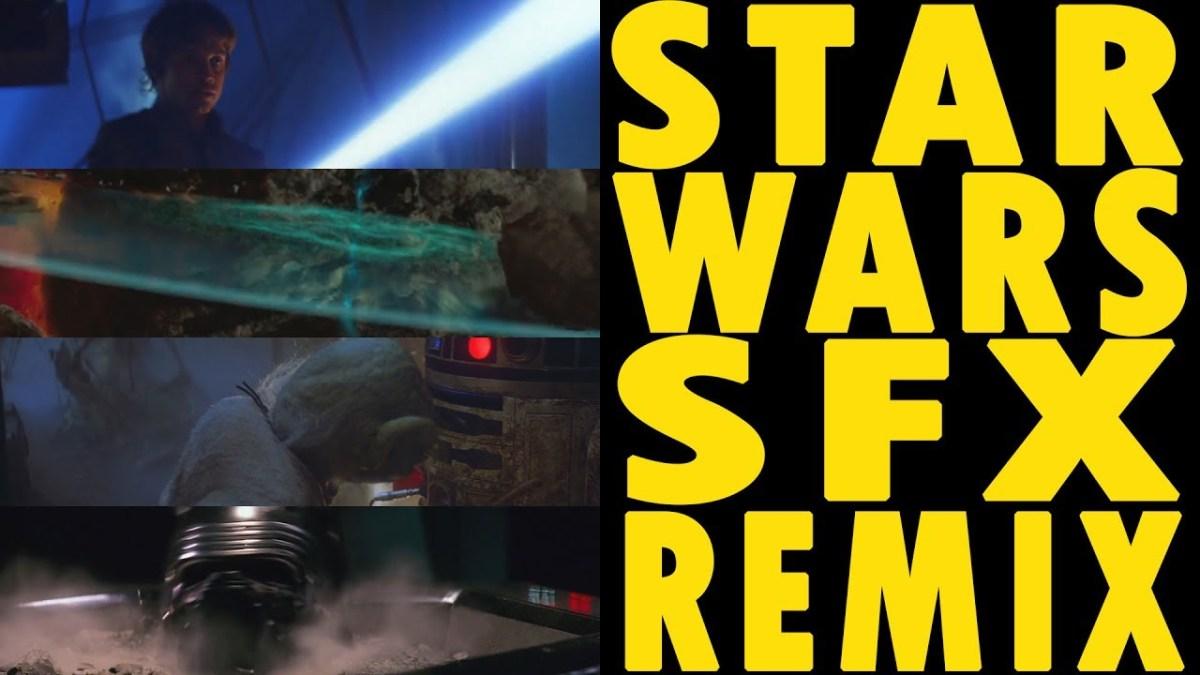 """Eclectic Method remixt Geräusche aus allen acht """"Star Wars""""-Filmen zu einem Song"""