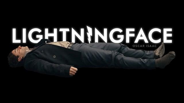 "Im Kurzfilm ""Lightningface"" wird Oscar Isaac vom Blitz getroffen"