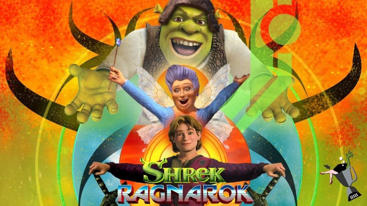"""Wie der Trailer zu """"Thor: Ragnarok"""", aber mit Bildern von Shrek"""