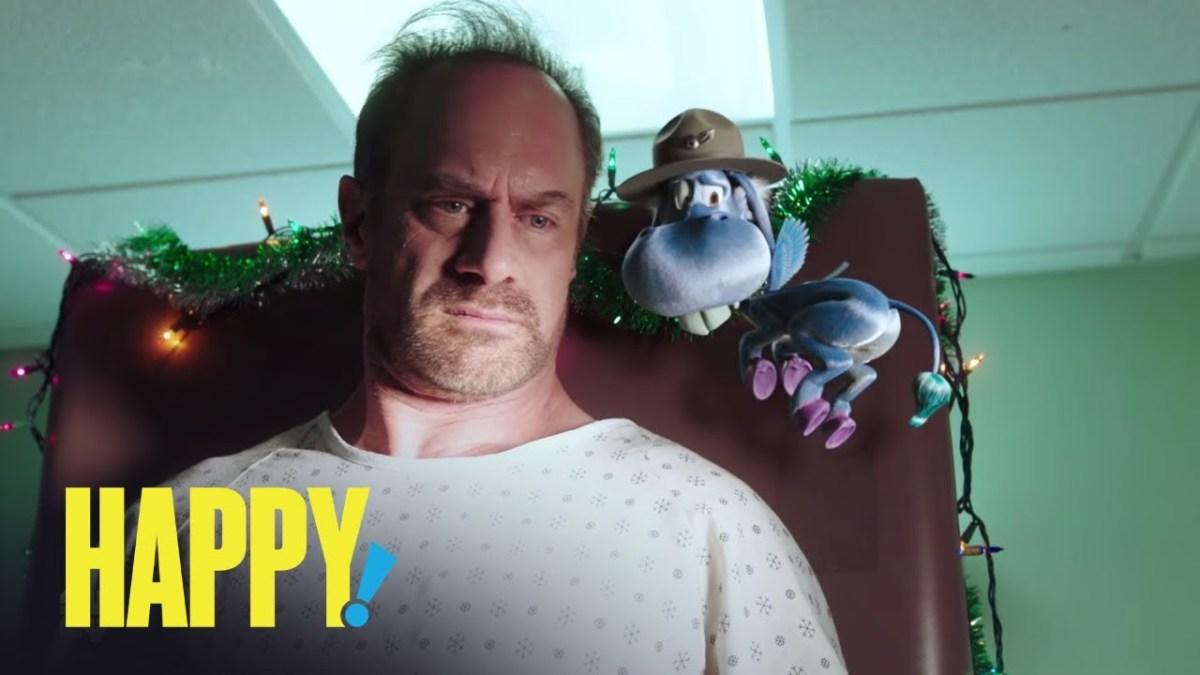 """Der Trailer zu """"Happy!"""" ist genauso absurd super wie der Comic"""