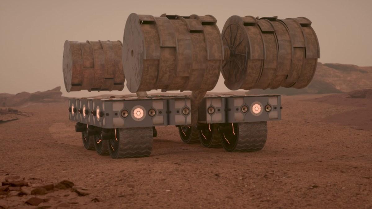 """""""Mars Habitat"""" zeigt uns eine Möglichkeit, wie Menschen den Mars bevölkern könnten"""
