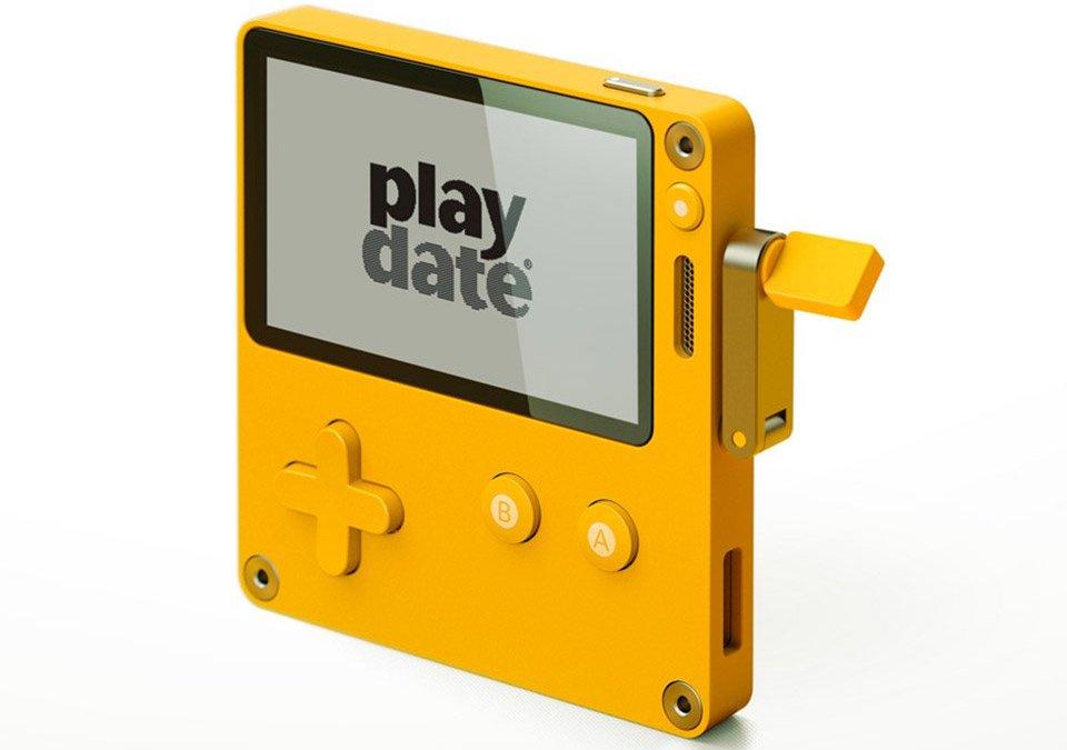 Der Playdate ist ein neuartiger Handheld mit Kurbel