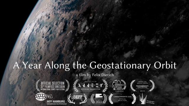 """A Year Along the Geostationary Orbit"""