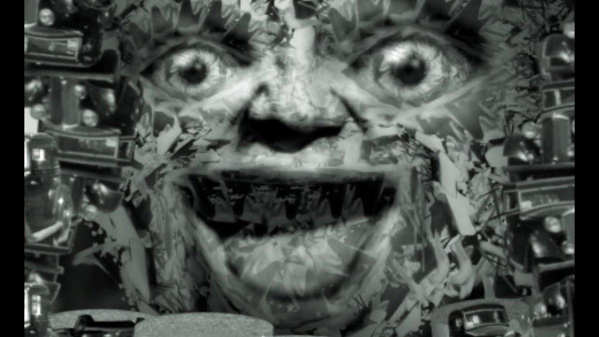 Cyriak bringt sein geordnets Chaos in einen alten Kurzfilm über jemanden, der auf der Straße frühstücken will
