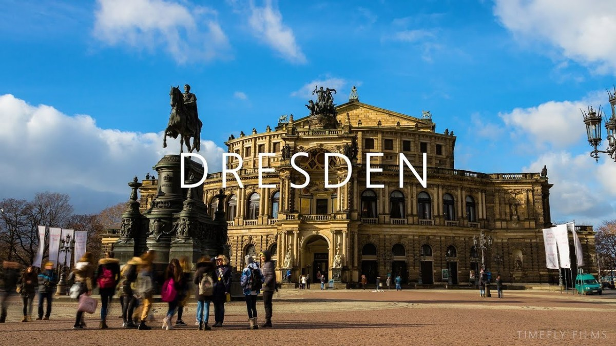 Das wunderschöne Dresden im 4K Zeitraffer