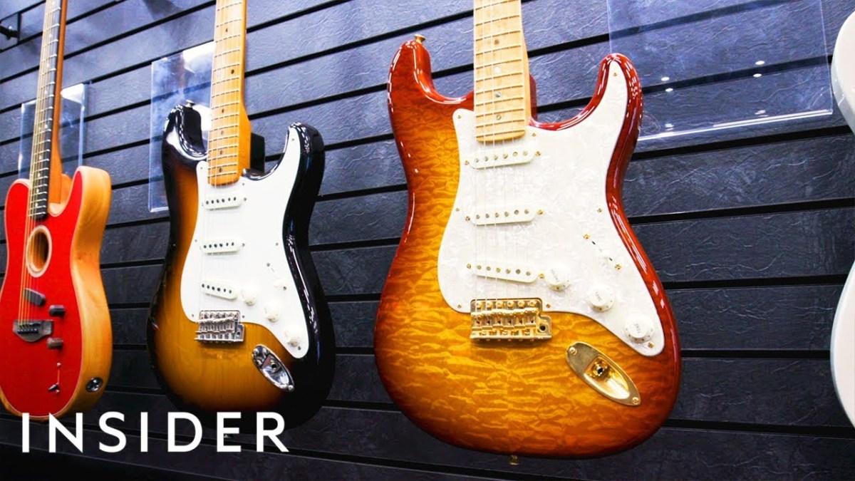 Zu Besuch in der Gitarrenfabrik von Fender