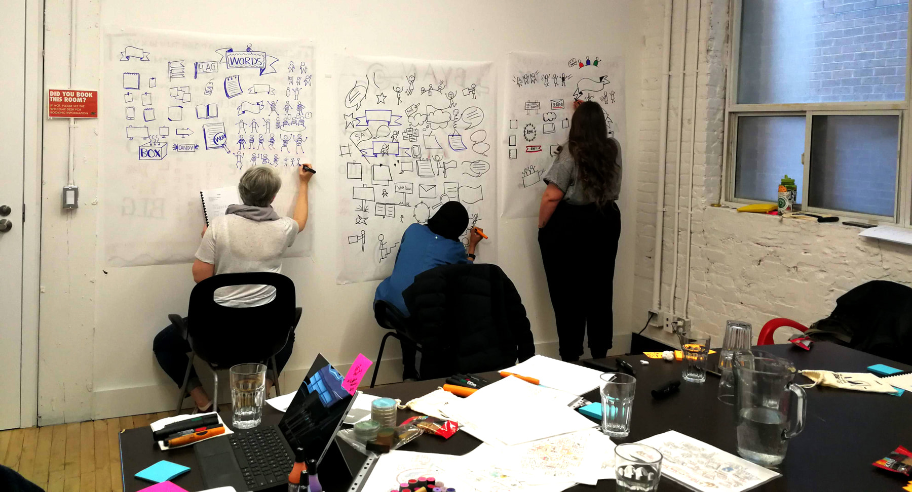 Graphic recording workshop in Toronto Ontario