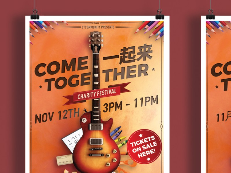 Come Together Charity Festival - Preview