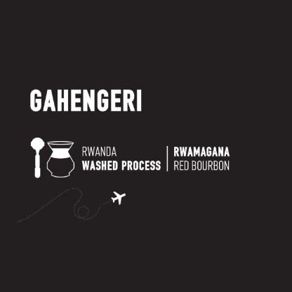 Gahengeri Coffee Label