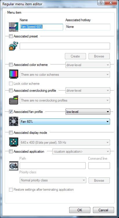 Set the options to the following (Recreate)