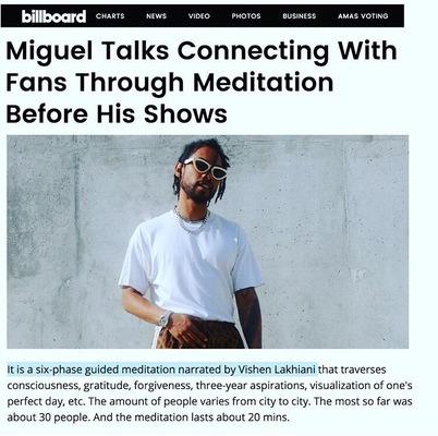 Мигель медитация
