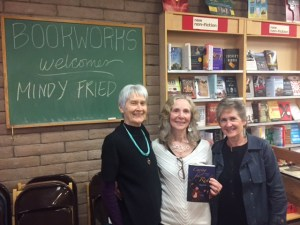 Book talk in Albuquerque with old friends!