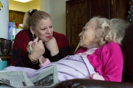 "Photo credit: Deirdre Fishel, producer of documentary, ""Care"""