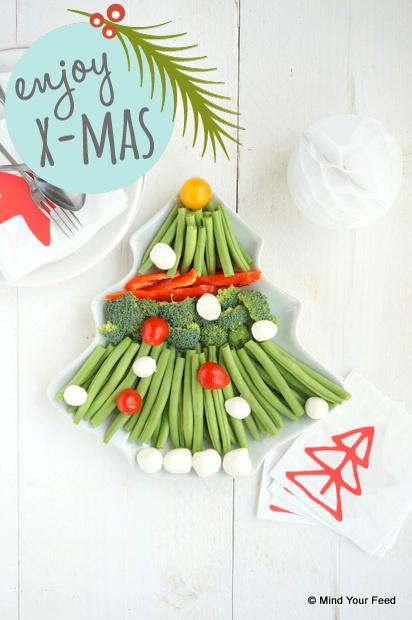 groente kerstboom
