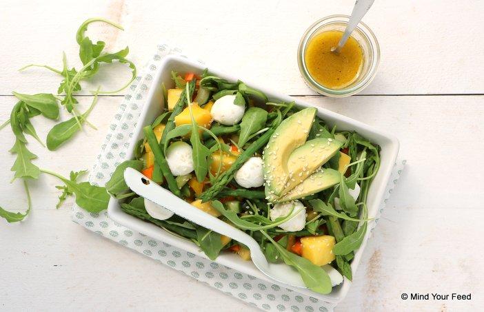 salade met groene asperges (2)