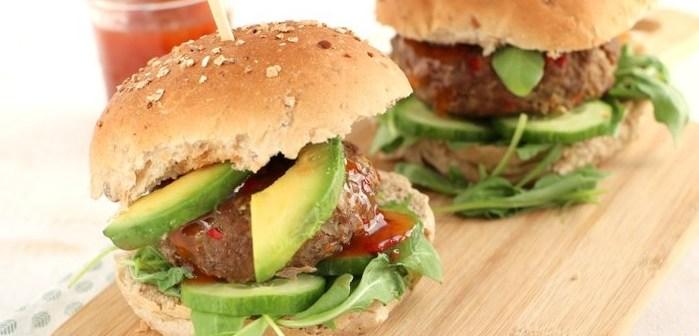 Indonesische hamburgers
