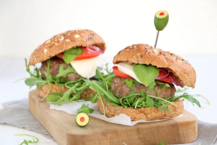 Italiaanse hamburgers