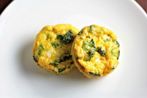 Broccoli Cheddar Egg Cups combine broccoli, cheese, eggs, salt, pepper, and a splash of milk to make an easy breakfast, brunch, lunch, or even dinner!