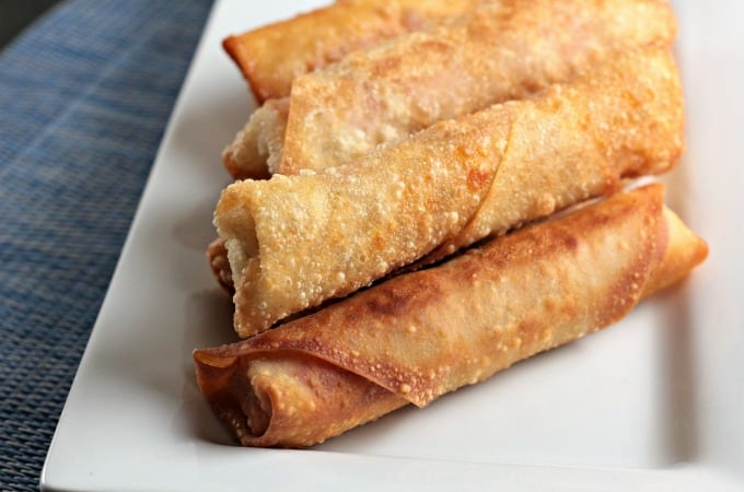 Pepperoni Pizza Egg Rolls Mindy S Cooking Obsession