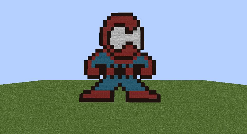 Spider Man Pixel Art Creation 3452