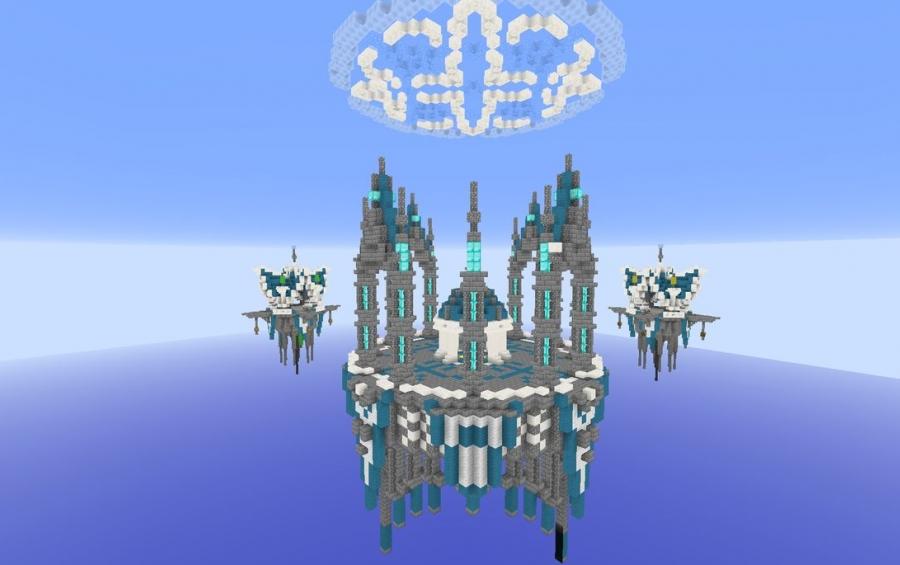 Heaven 4 X 4 Bedwars Map Creation 6784