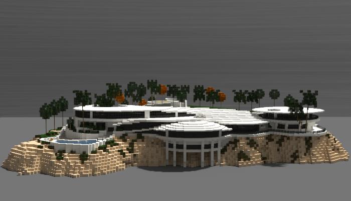 Iron Mans Mansion Creation 7003