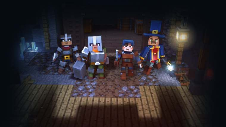 Image result for minecraft dungeons