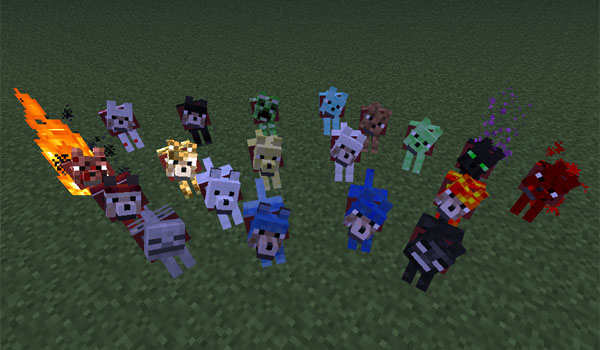 Wolves Plus Mod For Minecraft MineCraftings - Skins para minecraft 1 8 minecrafteo