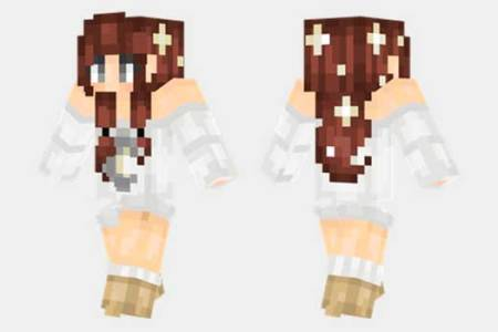Skin De Minecraft De Mujer Full HD MAPS Locations Another World - Skins para minecraft pe mujeres