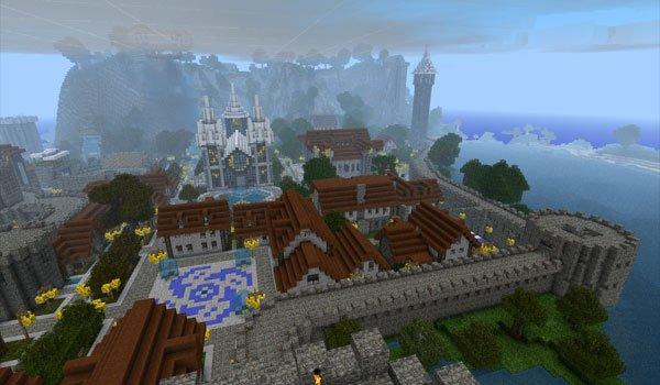 Castle Lividus of Aeritus Map for Minecraft