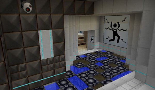 Precisely Portal Texture Pack for Minecraft 1.8
